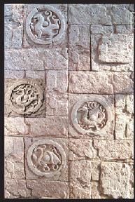 建筑室内装修建材内墙砖外墙砖砂岩艺术墙砖 四神组合图案