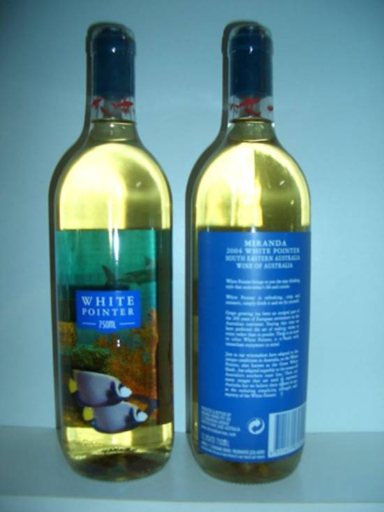 麦肯大白鲨白葡萄酒
